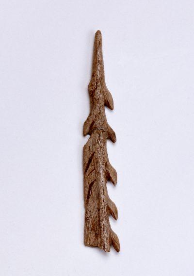 Bruchstück einer Harpune, 15.-11. Jahrtausend v. Chr