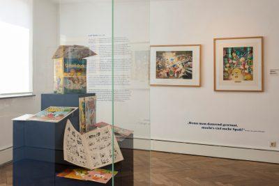 Ausstellungsansicht Carl Barks