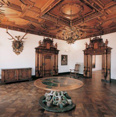 Allgemein_Raum im historischen Kiechelhaus um 1600
