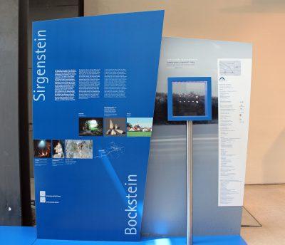 Ausstellungsansicht Am Anfang der Kunst, Sirgenstein