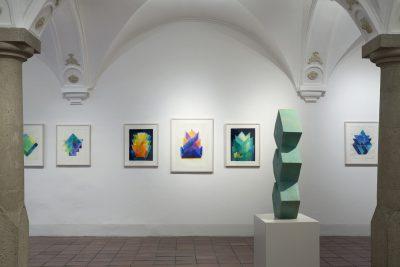 Ausstellungsansicht MACK, Ehinger Stadel