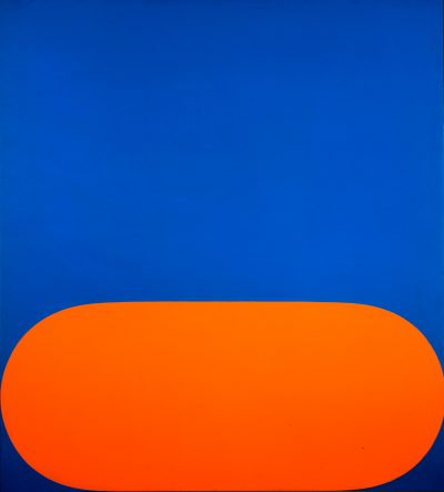 Ellsworth Kelly, Orange Blue, 1964-65
