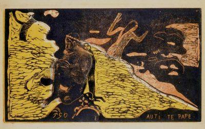 Graphische Sammlung_Gauguin, Paul_Auti te pape_les femmes à la rivière_1891-93