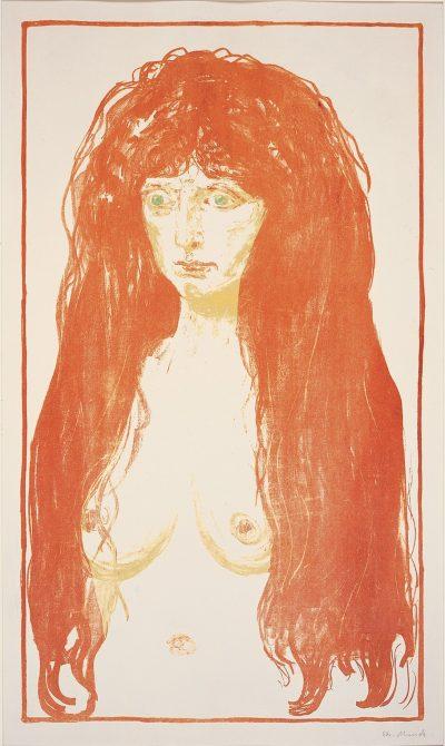 Graphische Sammlung_Edvard Munch_Akt (Die Sünde), 1901
