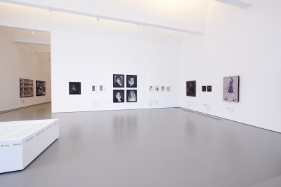 Pressefoto Ausstellungsansicht (3) Warum Kunst, kunsthalle weishaupt, Foto Henry M. Linder