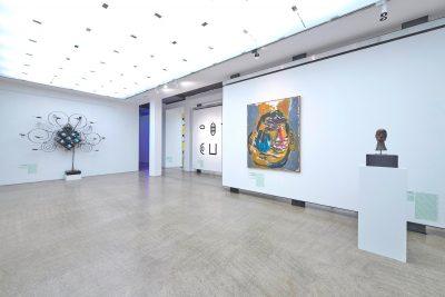 Pressefoto Ausstellungsansicht Warum Kunst, Museum Ulm, Foto Henry M. Linder