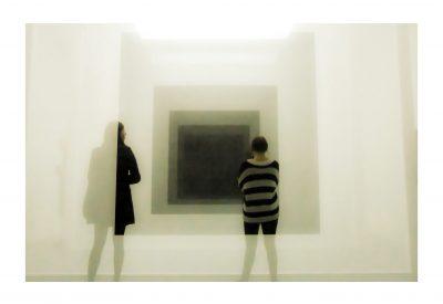 Günter Schrem, Begegnung mit der Kunst 2, 2017, Fotografie