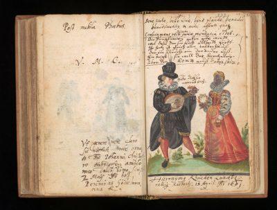 Stammbuch v. Johann Christoph Harsdörffer_Haus der Stadtgeschichte - Stadtarchiv Ulm, Foto Nadja Wollinsky