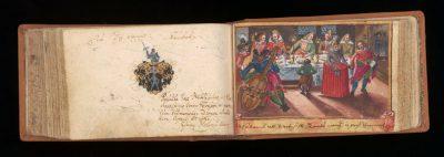 2_Stammbuch v. Anton Schermar_Haus der Stadtgeschichte - Stadtarchiv Ulm, Foto Nadja Wollinsky