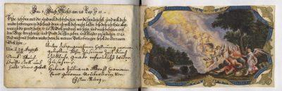 4_Stammbuch v. Albert Bartholomäus Cramer_Haus der Stadtgeschichte - Stadtarchiv Ulm, Foto Nadja Wollinsky