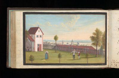 5_Stammbuch v. Johanna Louise Mündler_Haus der Stadtgeschichte - Stadtarchiv Ulm, Foto Samuel Tschaffon