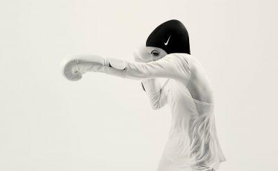12 Nike Pro Hijab 2017, Zeina Nassar Boxing 03 © Nike