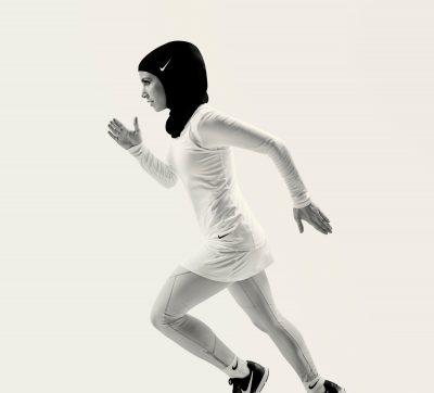 13 Nike Pro Hijab 2017, Zeina Nassar Running © Nike