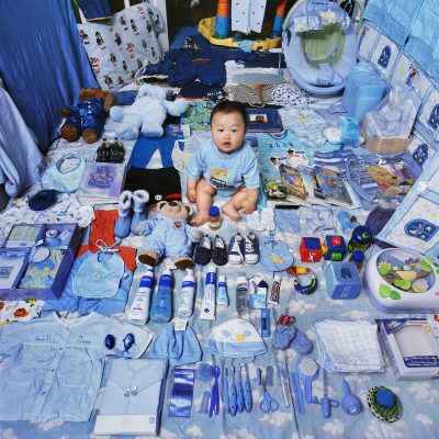 09 The Blue Project I - Jake and His Blue Things, NY, USA, Light jet Print 2006 © Jeon