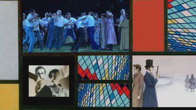 Filmstill aus Mondrianmaschine Nr.3 Puschkin's Lost Diary, Courtesy Alexander Kluge Sarah Morris
