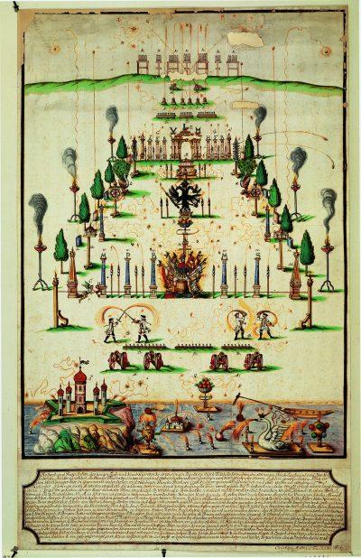 Matthäus Faulhaber_Lust-und-Kunstfeuerwerk-1746_Foto Stadtarchiv-Ulm