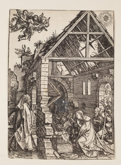 Albrecht Dürer_Geburt Christiaus dem Marienleben_um 1504_Holzschnitt_Foto Oleg Kuchar Ulm