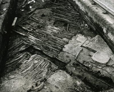 Grabungsfeld 1960, Foto Landesamt für Denkmalpflege im RP Stuttgart