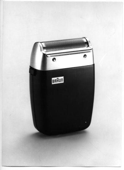 Rasierapparat Braun Sixtant. Entwurf Hans Gugelot, Hersteller Fa. Braun. Foto Archiv Gugelot