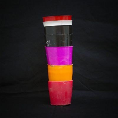 Anonym, Plastikbecher-Prothese, Museum of Handmade Prothesis, Mahavir Kmina Corporation, La Estrella, Kolumbien