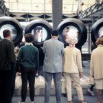 Informationsträger im deutschen Pavillon auf der expo 67, Fotograf Herbert Ohl, 1967, (c) HfG-Archiv Ulm