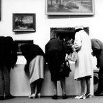 """Ausstellungsfoto (4) """"Das schönste Bild bei mir zuhaus"""", studio f, Olgastraße, 1971, Foto Lippot, (c) SWP-Archiv"""