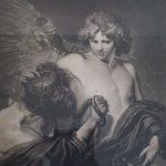John Watts, Van Dyke in the chracter of Icarus, Druckgrafik, 1778, Florence Riecker