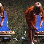 Michael Penck, circa 1965, Farbfotografie, © HfG-Archiv Ulm